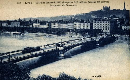 Lyon, Le Pont Morand et La fourvière