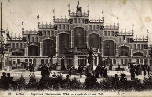 Exposition internationale de Lyon, 1914