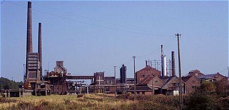 De gesloopte cokesfabriek 'Carcoke' in Zeebrugge